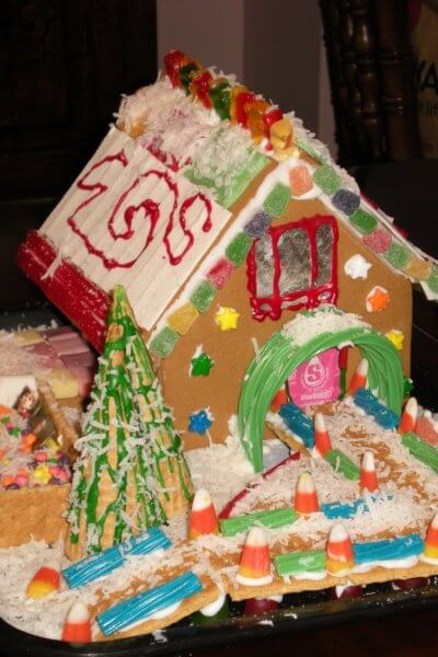 Judge our Gingerbread House Competition!!!
