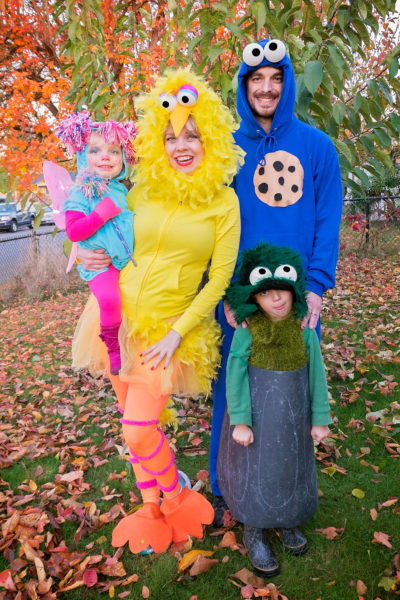 Sesame Street Family Costumes on EatingRichly.com
