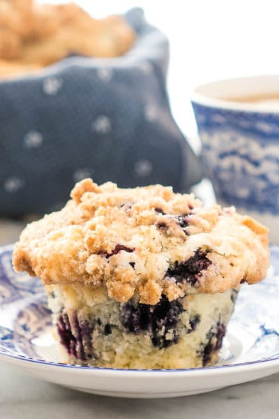 Picking Fresh Blueberries and the Best Blueberry Muffin Recipe