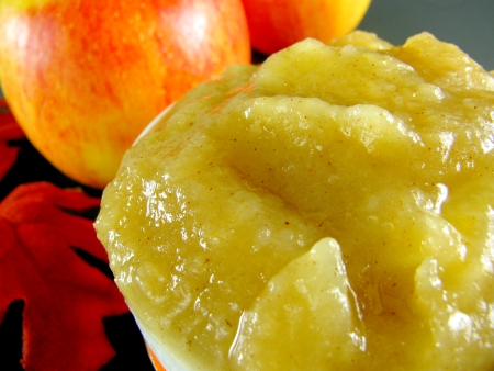 Jonagold Apple Sauce Close Up blog size