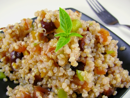 Asian Pear Cranberry Curry Chutney Quinoa and How to Make a Recipe