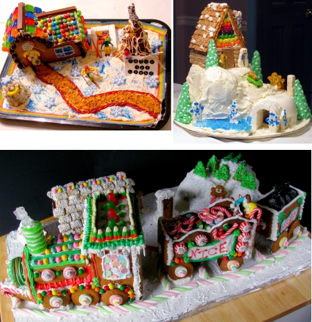 Winner of Our 2009 Gingerbread Contest and How to Make a Gingerbread Train