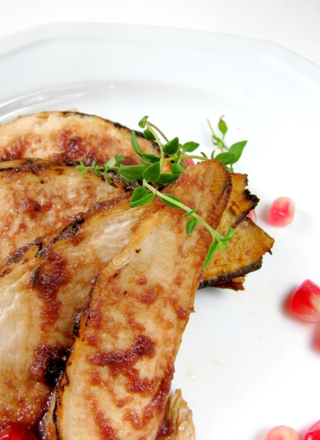 How to Open a Pomegranate and Pomegranate Chicken Recipe