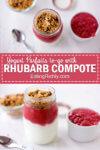 Rhubarb Compote Parfait Pin