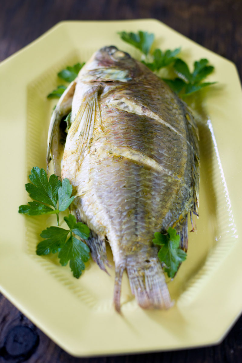 Baked tilapia recipe and how to cook a whole fish eating for How do you cook fish