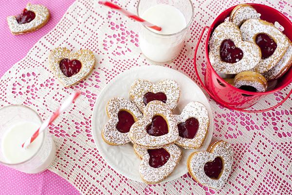 Healthy Valentines Cookies