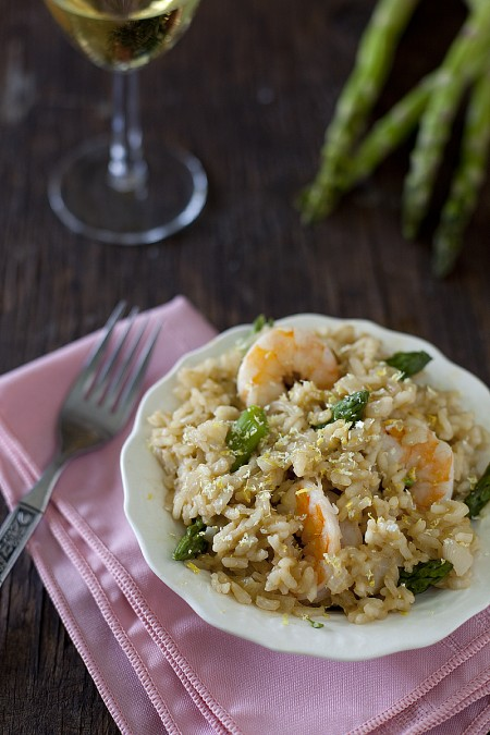 seafood-asparagus-risotto