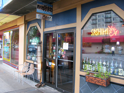 Our new favorite sushi restaurant in Seattle