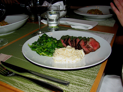 Springhill Steak and Grits