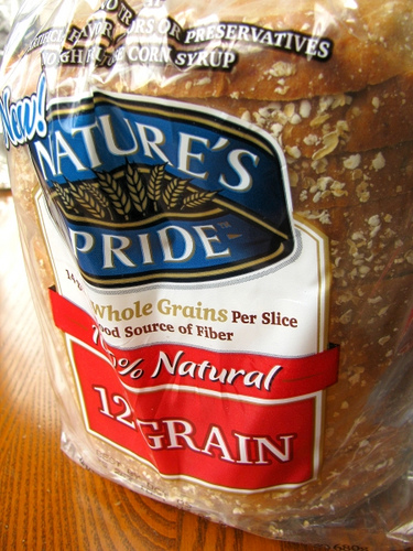 Natures Pride 12 Grain Bread