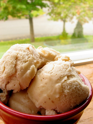 Frozen Banana Ice Cream (Ice Cream that's good for you!)