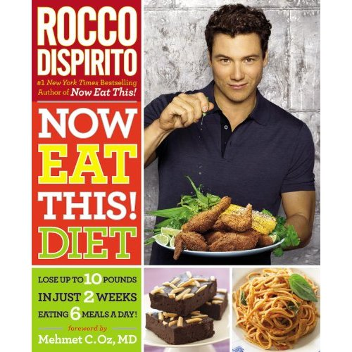 Rocco DiSpirito Diet Cookbook Giveaway