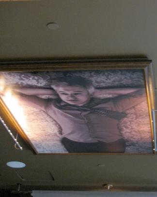 Americano ceiling art