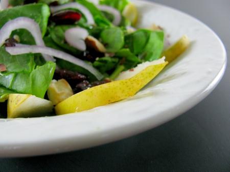 Asian Pear Salad Closeup blog size