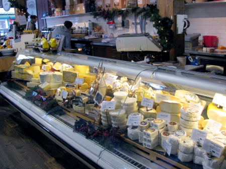 Beechers cheese display