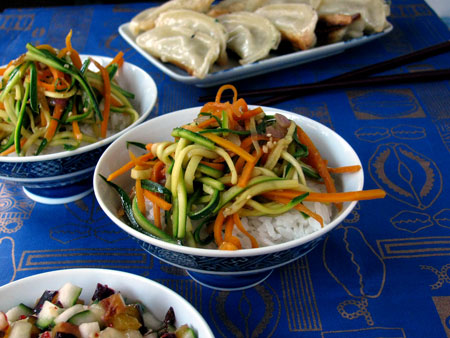 Carrot Zucchini Stir Fry Recipe