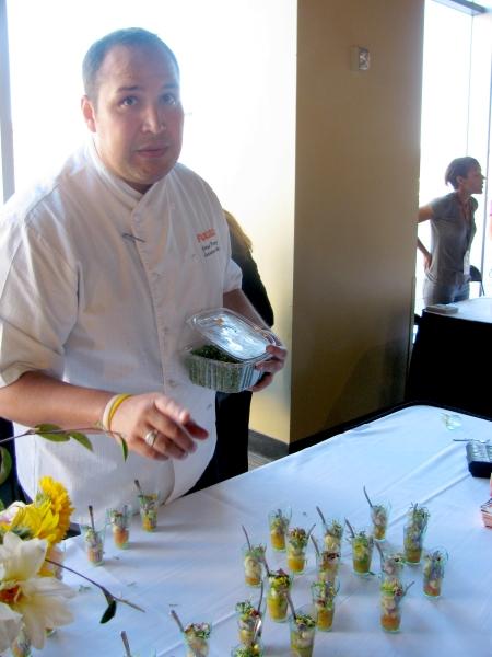 Foodbuzz Festival Chef Jesse Perez Fuego
