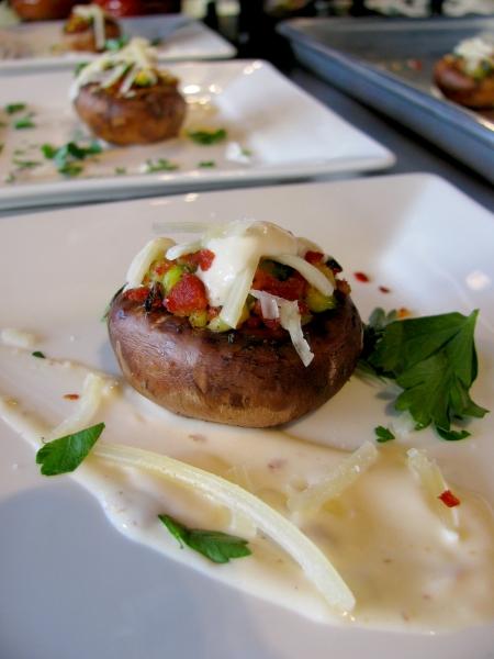 Foodbuzz Festival Duo Dishes mushroom