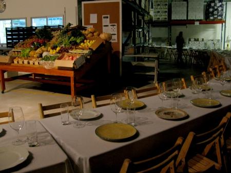 Foodbuzz Festival Greenleaf Table