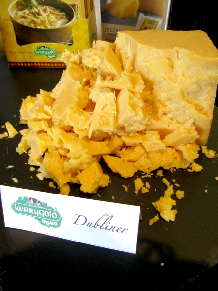 Foodbuzz Festival Kerrygold Dubliner Cheese