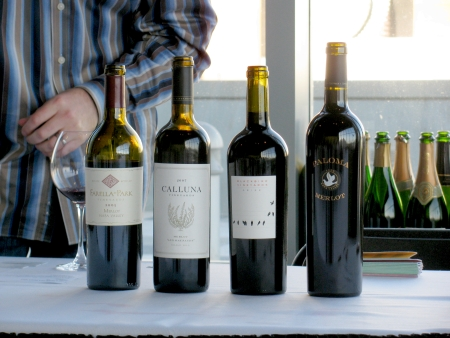 Foodbuzz Festival merlot wines