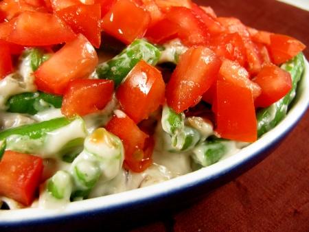 Green Bean Casserole mixed