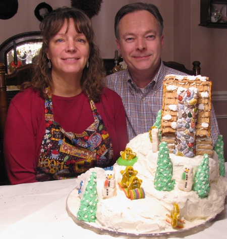 Jeff and Patti Gingerbread House