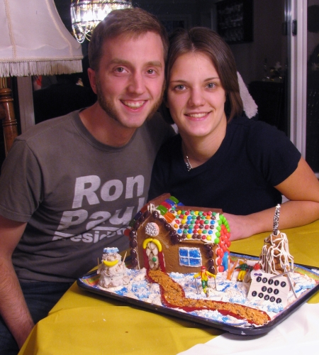 John and Heather Gingerbread House