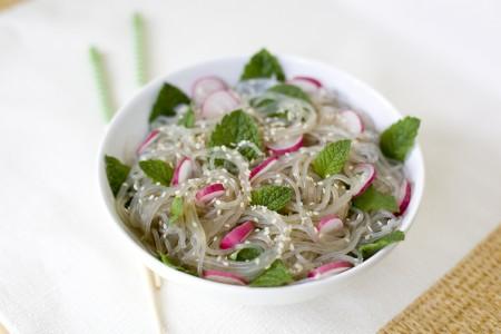 Radish Mint Salad Recipe