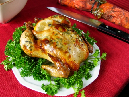 Thanksgiving Cornish Hen