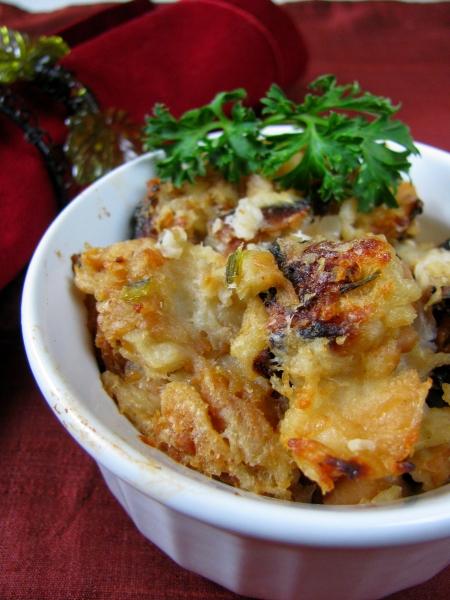 Thanksgiving Stuffing closeup blog size