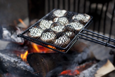 campfire-stuffed-mushrooms