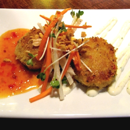 chao bistro crab cakes