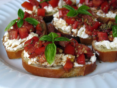 Bruschetta Recipe and the South King County Latino Health Fair