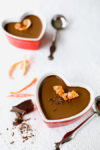 Nothing beats homemade orange chocolate pudding. Take a romantic dessert from classic to classy by adding vanilla bean & orange zest. This dish is sure to wow your Valentine! From EatingRichly.com