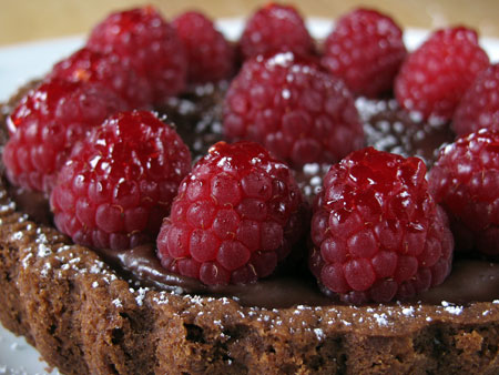 Raspberry Chocolate Tart Recipe: The Perfect Valentine's Day Dessert