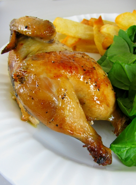 cornish hen half