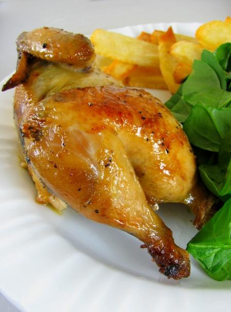 cornish hen half