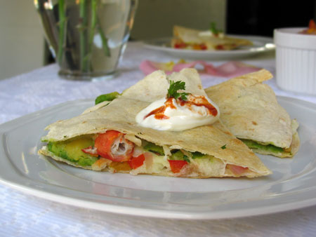 Affordable King Crab Quesadilla Recipe