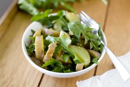 dandelion-potato-salad