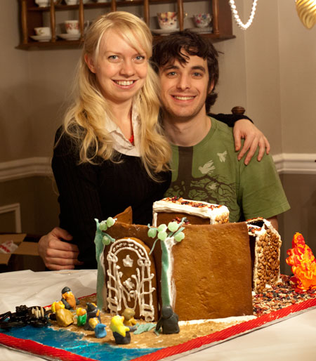 Lord of the Rings Gingerbread House and Marshmallow Fondant Recipe