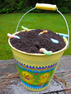 Eating Richly & The perfect spring party dessert: Dirt Cake! - Eating Richly