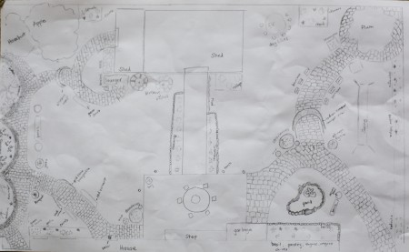 dream garden plan