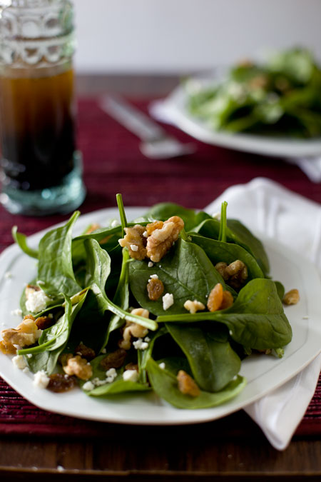 Eating richly even when you're broke | Spinach Salad ...