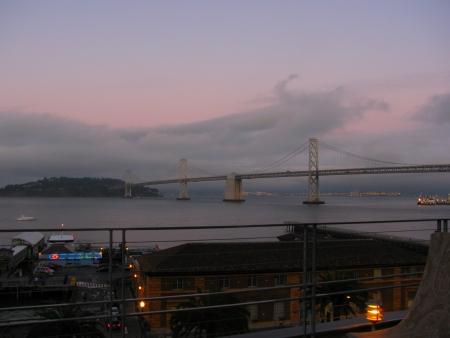 foodbuzz festival SF bridge sunset blog size