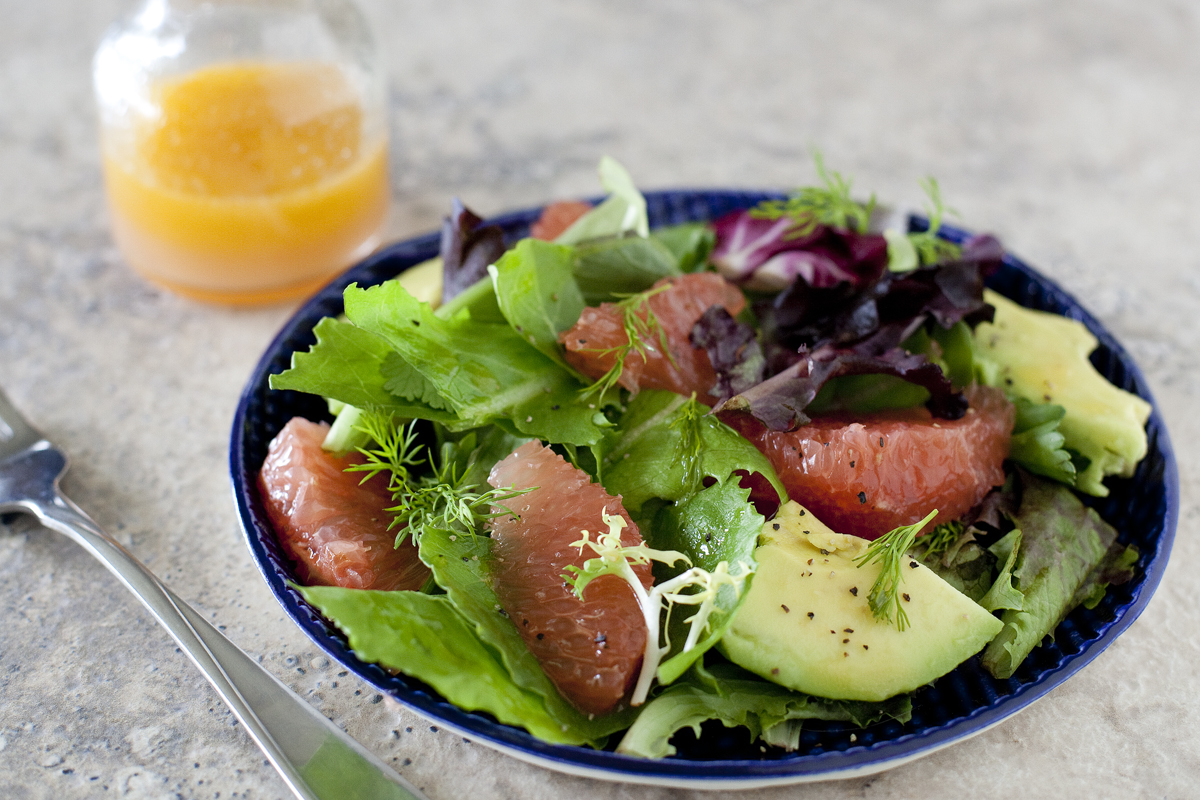 Grapefruit Avocado Salad Recipe