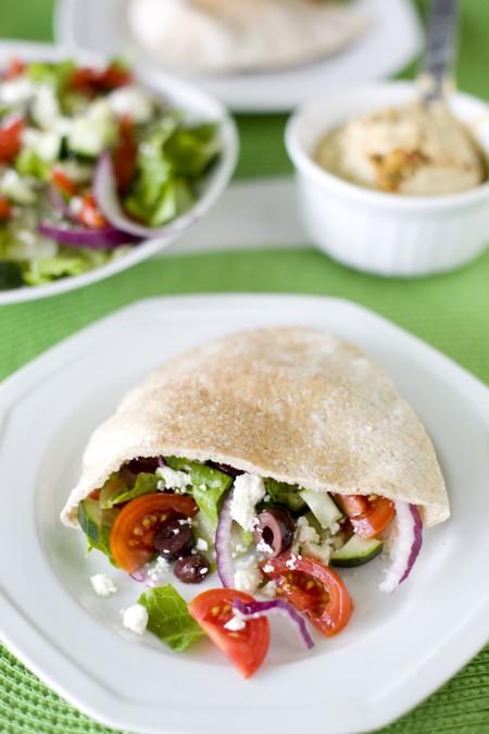 greek-chicken-salad-pita