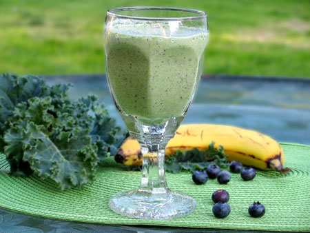 Lactose Free Green Smoothie Recipe