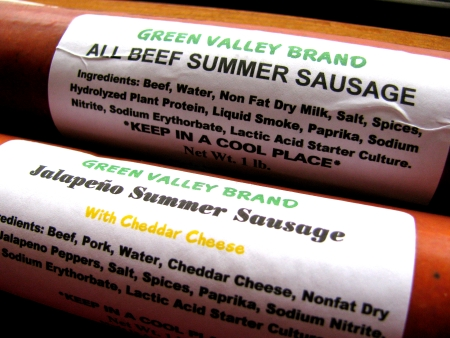 green valley sausage