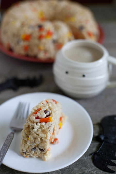 Halloween Rice Krispie Cake Recipe